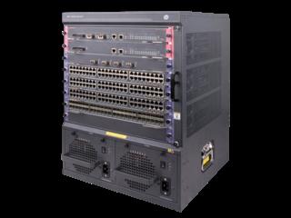Chasis de conmutador HPE FlexNetwork 7506 Center facing