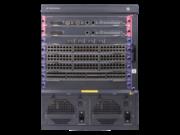 Ensemble commutateur HPE FlexNetwork 7506 avec structure 2 x 2,4 Tbits/s et unité de traitement principale