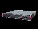Estructura HPE FlexNetwork 7500 de 2,4 Tbps con 8 puertos 1/10 GbE SFP+ y MPU de 2 puertos 40 GbE QSFP+