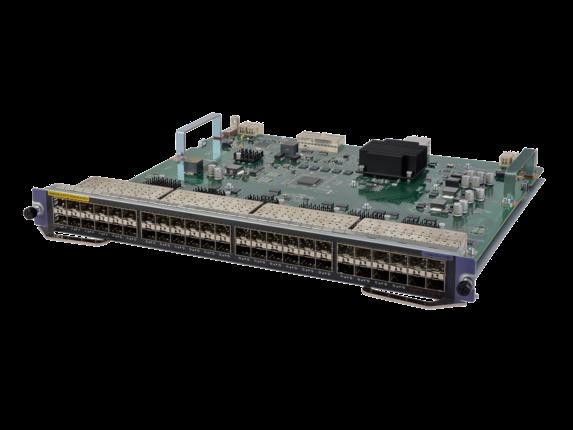HPE FlexNetwork 7500 44-port SFP/4-port SFP+ SE Module