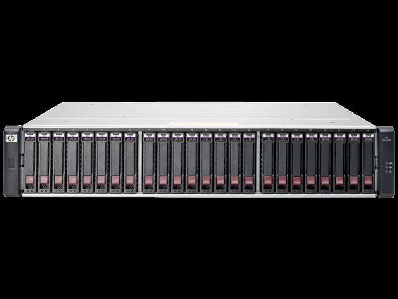 HPE MSA 2040 ES SAN DC SFF Storage