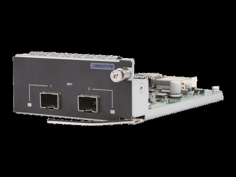 Módulo de 2 puertos SFP+ 10GbE para HPE 5130/5510 Left facing