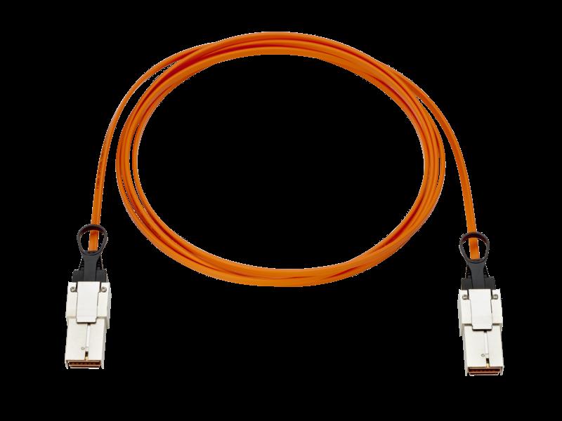 Câble optique actif de liaison d'interconnexion HPE Synergy, 5 m Center facing