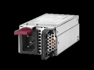HPE 900W Standard AC 240VDC Power Input Module Left facing
