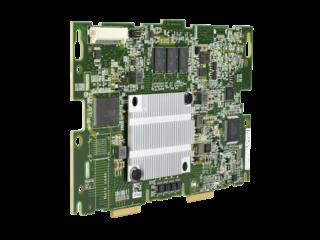 HPE H240nr 12Gb 1-port Internal Smart Host Bus Adapter Left facing