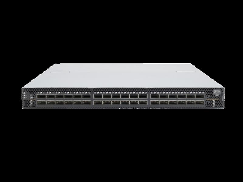 Commutateur non géré Mellanox InfiniBand EDR 100 Gbit/s v2 36 ports côté alimentation-flux d'air entrant Left facing