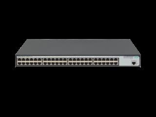 Conmutador HPE OfficeConnect 1620 48G Center facing