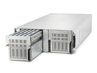 HPE Cloudline CL5200 Gen9 Server Center facing