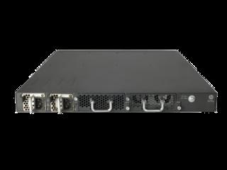 HPE FlexFabric 5820AF 24XG Switch Rear facing