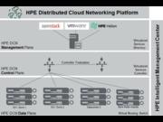 Conexión de red en la nube distribuidas de HPE