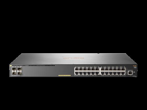 Aruba 2930F 24G PoE+ 4SFP+ Switch
