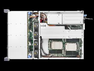 Serveur HPE Cloudline CL2200 G3 Top view open