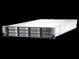 Server HPE Cloudline CL2200 G3 Left facing