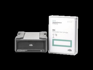 HPE RDX 1TB External Backup System Center facing