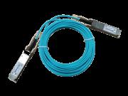 Cable de fibra óptica activo 100G QSFP28 a QSFP28 de 7 m HPE X2A0