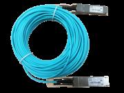 Cable de fibra óptica activo 100G QSFP28 a QSFP28 de 20 m HPE X2A0
