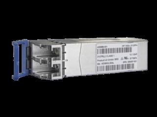 HPE BladeSystem c-Class 10Gb SFP+ LR Transceiver Center facing