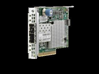 HPE FlexFabric 10Gb 2-port 534FLR-SFP+ Adapter Right facing