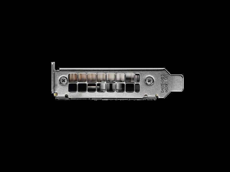 HPE NVIDIA Tesla M4 4GB Computational Accelerator Rear facing