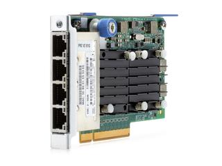 HPE FlexFabric 10Gb 4-port 536FLR-T Adapter Left facing