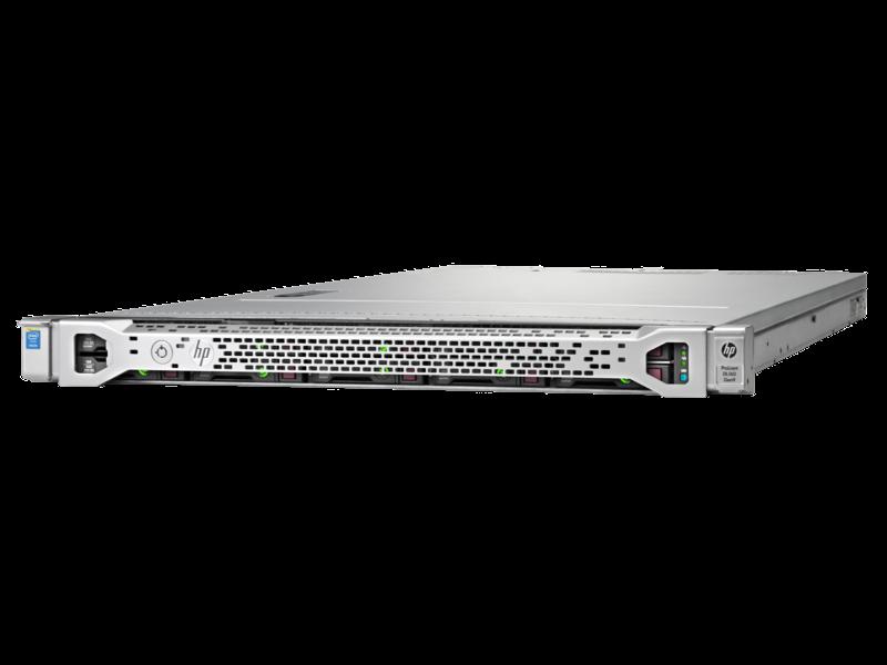HPE ProLiant DL160 Gen9 E5-2609v4 1P 16GB-R H240 8SFF 550W PS Server/TV Left facing