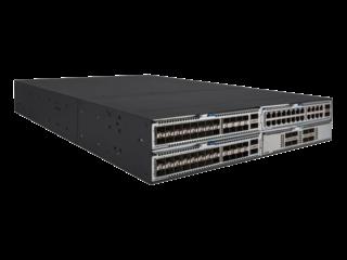 HPE FlexFabric 5940 Switch mit 4 Steckplätzen Right facing
