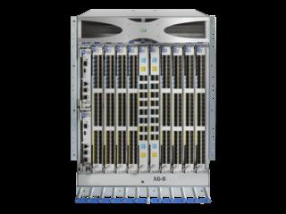 Switch Director Power Pack+ de 8 ranuras HPE StoreFabric SN8600B Center facing