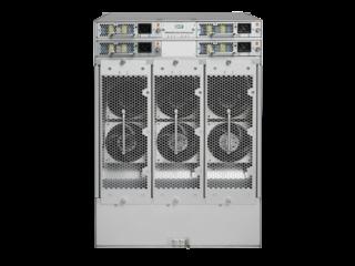 Switch Director Power Pack+ de 8 ranuras HPE StoreFabric SN8600B Rear facing