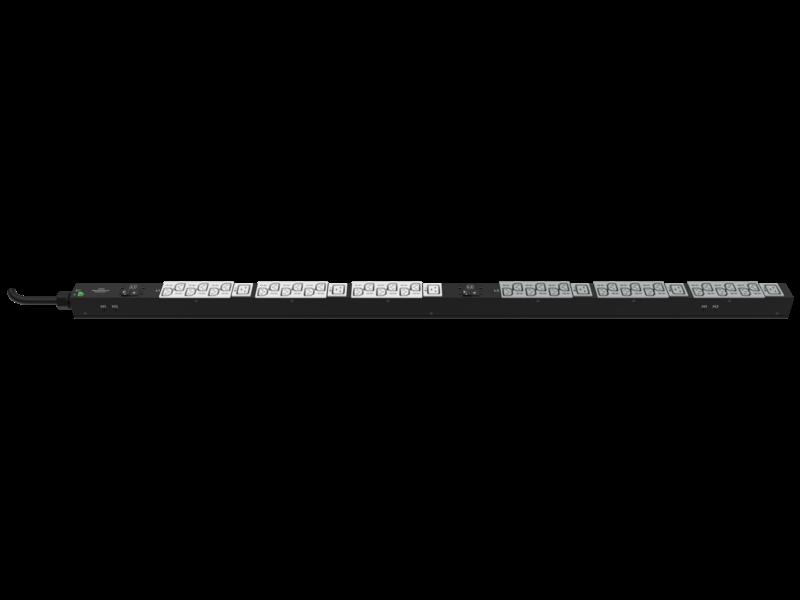 HPE G2 Basic 4.9kVA/L6-30P 24A/208V Outlets (20) C13/Vertical NA/JP PDU Hero