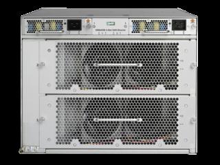 Switch Director Power Pack+ de 4 ranuras HPE StoreFabric SN8600B Rear facing