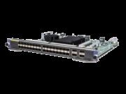 HPE FlexNetwork 10500 32-port 10GbE SFP/SFP+/4-port 40GbE QSFP+ M2SG Module