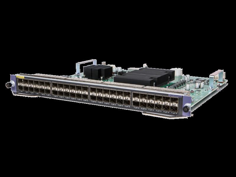 Módulo M2RSG SF HPE FlexNetwork 7500 de 48 puertos 10 GbE SFP/SFP+