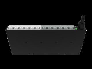 HPE G2 Basic 4.9kVA/L6-30P 24A/208V Outlets (12) C13/1U Horizontal NA/JP PDU Center facing