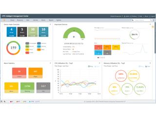Logiciel HPE IMC Intelligent Analysis Reporter Center facing
