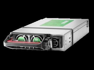 Kit fte de alimentación conexión dinámica HPE 2650W 277VCA Left facing