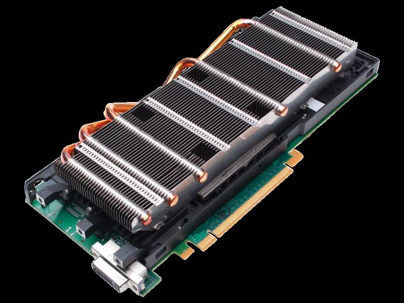 NVIDIA Tesla M10 Quad GPU Module Right facing