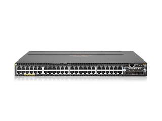 Aruba 3810M 48G PoE+ 4SFP+ 680W Switch Center facing