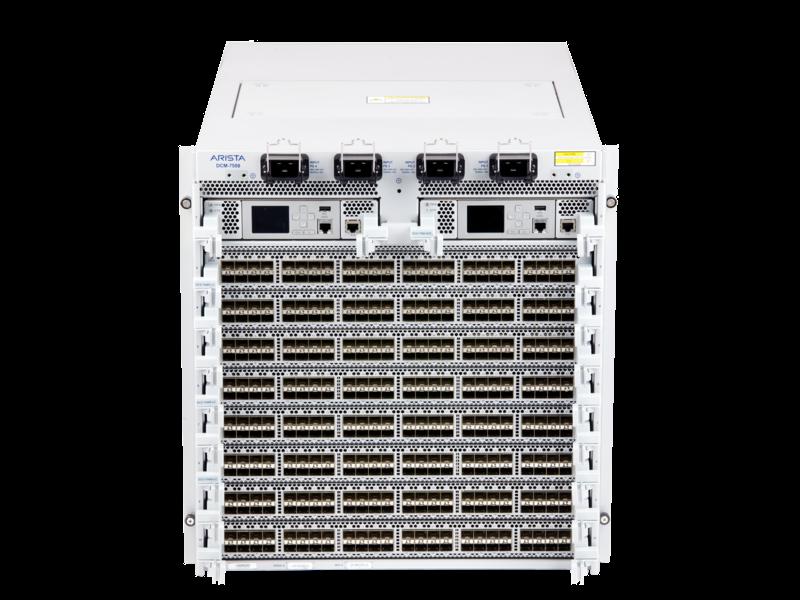 Arista 7500E 데이터 센터 스위치 시리즈 Center facing