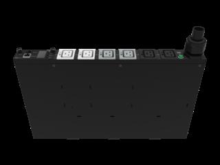 HPE G2 Metered Modular 8.3kVA/CS8265C 40A/208V Outlets (6) C19/1U Horizontal NA/JP PDU Right facing
