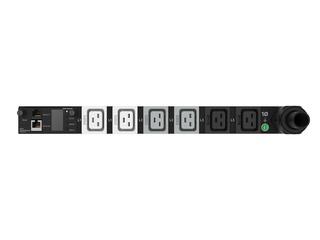 HPE G2 Metered Modular 8.3kVA/CS8265C 40A/208V Outlets (6) C19/1U Horizontal NA/JP PDU Center facing