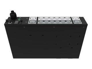 HPE G2 Metered PDU mit 7,3kVA/60309, 3-adrig, 32A/230-V-Ausgänge (12) C13 (4) C19/2U horizontal (INTL) Right facing