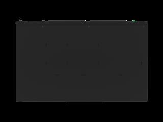 HPE G2 Metered PDU mit 3,6kVA/IEC C20, abnehmbar, 16A/100-240-V-Ausgänge (12) C13/1U horizontal (WW) Right facing