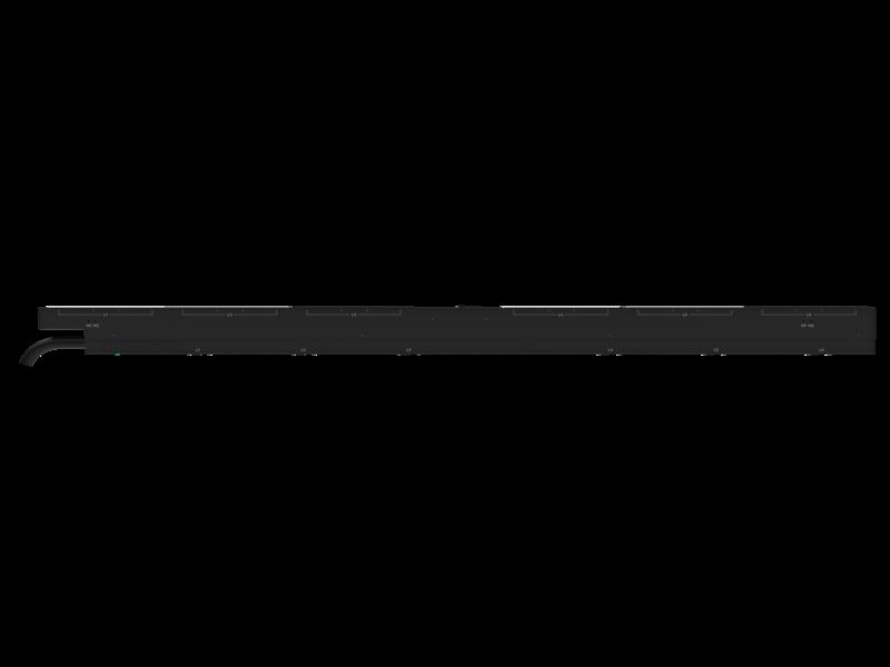 Unité de distribution électrique HPE G2 avec mesure et commutation intégrées, triphasée, 17,3 kVA/60309, 4 fils, prises 48 A/208 V (36) C13 (12) C19/Vertical (Amérique du nord/Japon) Center facing