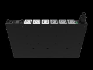 HPE G2 Metered Modular 4.9kVA/L6-30P 24A/208V Outlets (6) IEC C19/1U Horizontal NA/JP PDU Right facing