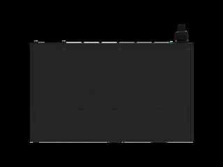 HPE G2 Metered Modular 4.9kVA/L6-30P 24A/208V Outlets (6) IEC C19/1U Horizontal NA/JP PDU Top view closed