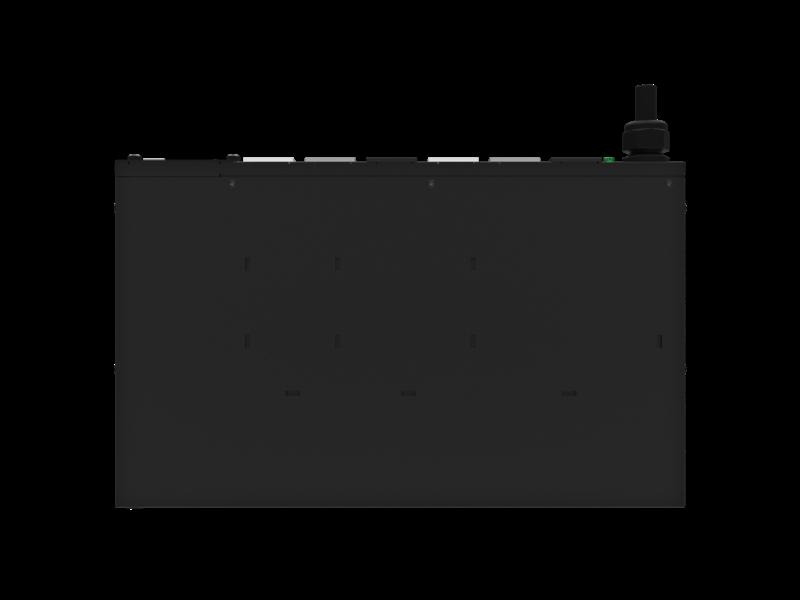 Unité de distribution électrique modulaire HPE G2 avec mesure intégrée, triphasée, 11 kVA/60309, 5 fils, prises 16 A/230 V (6) C19/1U, montage horizontal (monde entier) Other