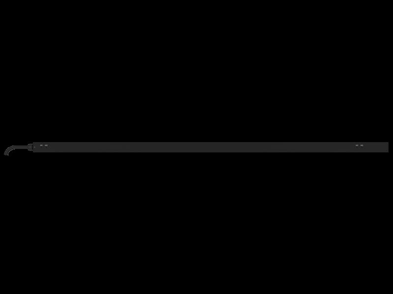 HPE G2 Metered 3Ph 8.6kVA/L21-30P 24A/208V Outlets (30) C13 (6) C19 (2) 5-20R/Vertical NA/JP PDU Rear facing
