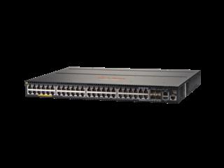 Aruba 2930M 48G PoE+ 1-slot Switch Left facing