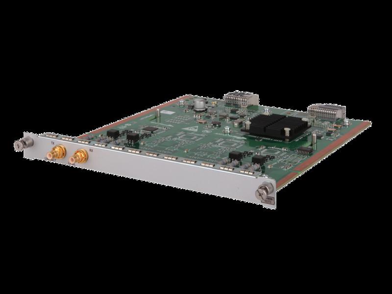Модуль HPE FlexNetwork MSR, 1 разъем Clear Channel, T3, HMIM Left facing