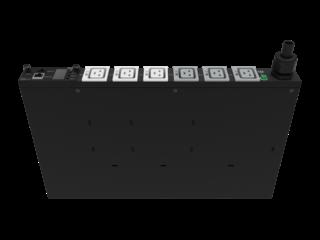 HPE G2 Metered Modular PDU mit 7,3kVA/60309, 3-adrig, 32A/230-V-Ausgänge (6) C19/1U horizontal (INTL) Right facing